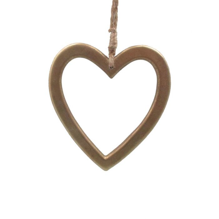 FP Collection Christmas Hanging Ornament Heart of Gold  ] 181515 - Flower Power