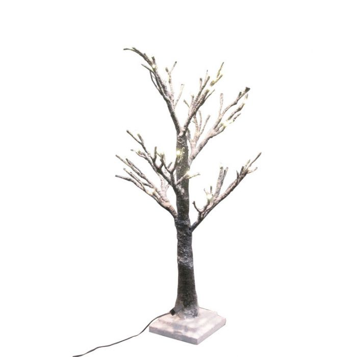 FP Collection Christmas Sparkle Snow Tree Brown  ] 181567P - Flower Power