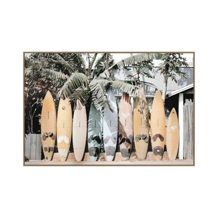 FP Collection Surf's Up Canvas Wall Art  ] 181844 - Flower Power