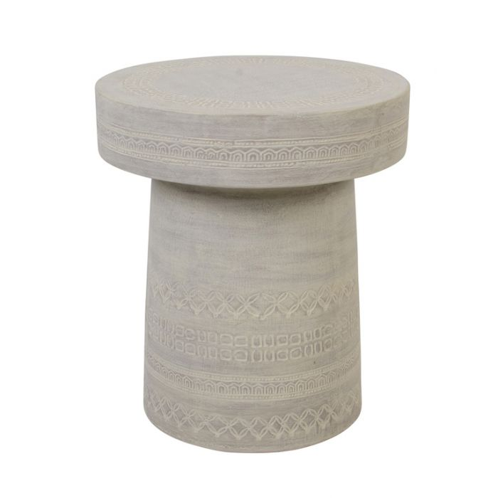 FP Collection Marbella Stool Sand  ] 182070 - Flower Power