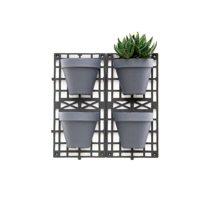 FP Collection Vertical Planting Kit With 4 Hanging Baskets Lead  ] 182314 - Flower Power