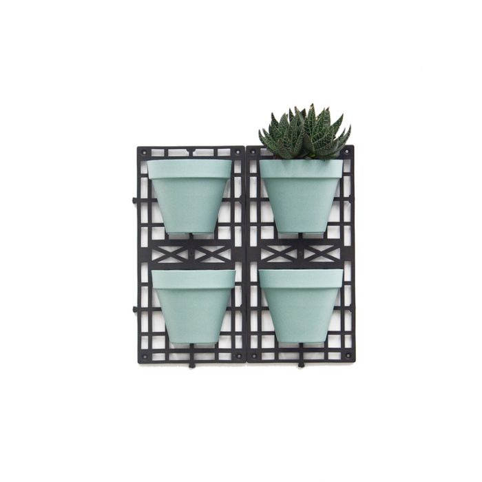 FP Collection Vertical Planting Kit With 4 Hanging Baskets Blue  ] 182315 - Flower Power