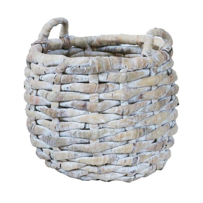 FP Collection Adele Basket White Wash  ] 182389P - Flower Power