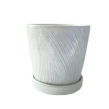 FP Collection Samara Planter White  ] 183589P - Flower Power