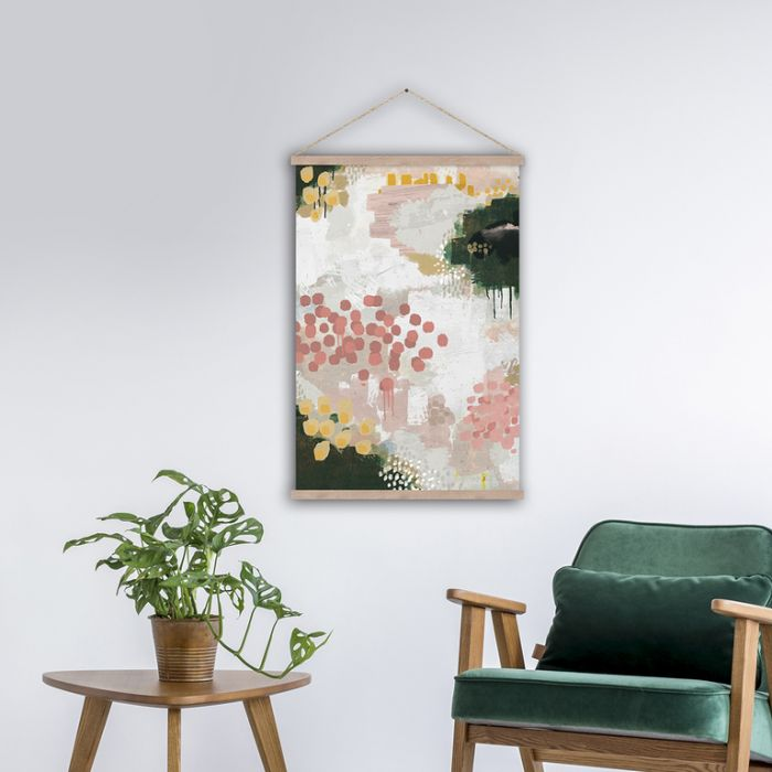 FP Collection Hanging Art Chloe  ] 183975P - Flower Power