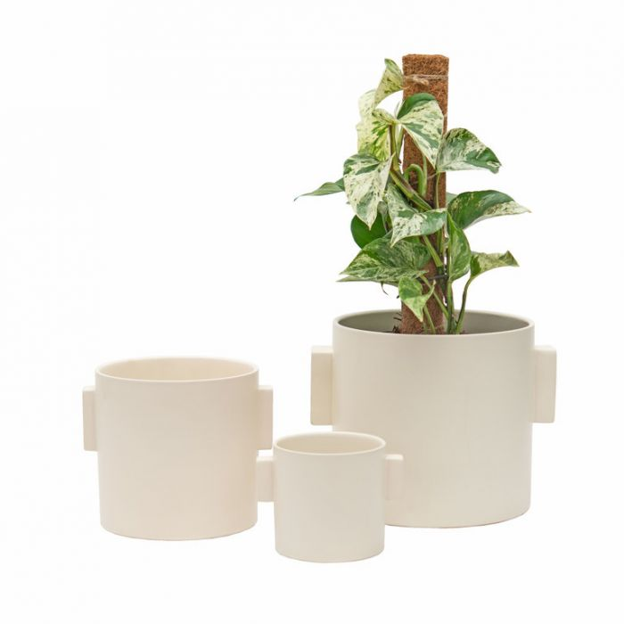 FP Collection Cabo Planter Cream  ] 184104P - Flower Power