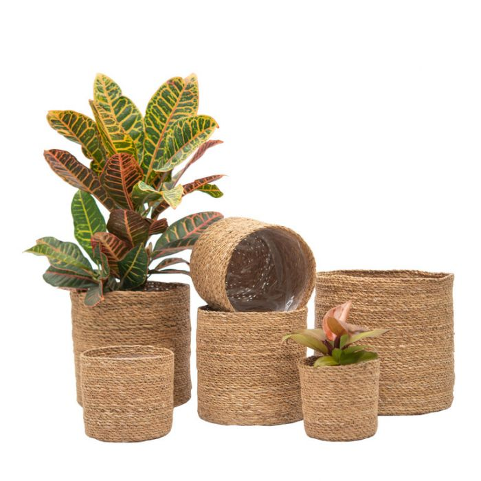 FP Collection Aden Planter Basket  ] 184427P - Flower Power