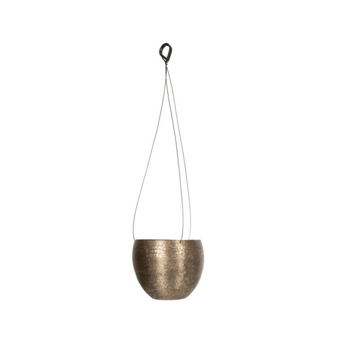 FP Collection Ada Hanging Planter Bronze  ] 184791P - Flower Power