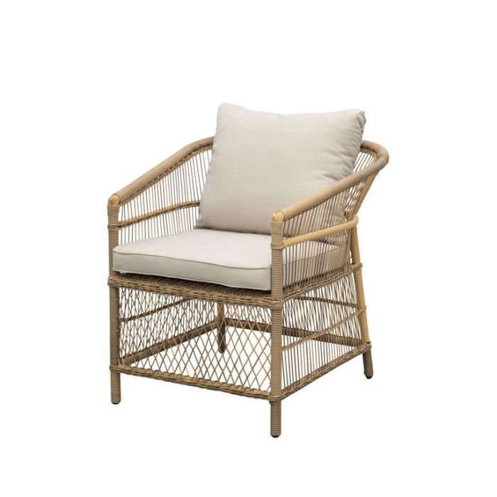 FP Collection Malawi Outdoor Dining Chair Natural  ] 185198 - Flower Power