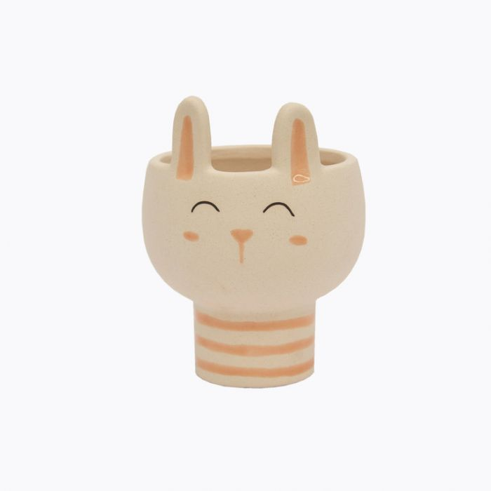 FP Collection Cotton Tail Bunny Planter  ] 185474 - Flower Power