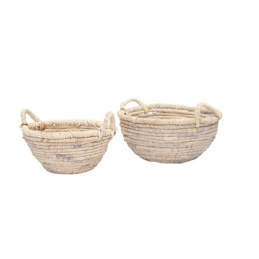 FP Collection Luanda Bowl Basket White  ] 186199P - Flower Power
