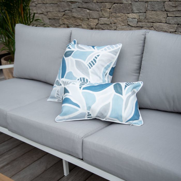 FP Collection Outdoor Cushion El Bosque Blue  ] 186290P - Flower Power