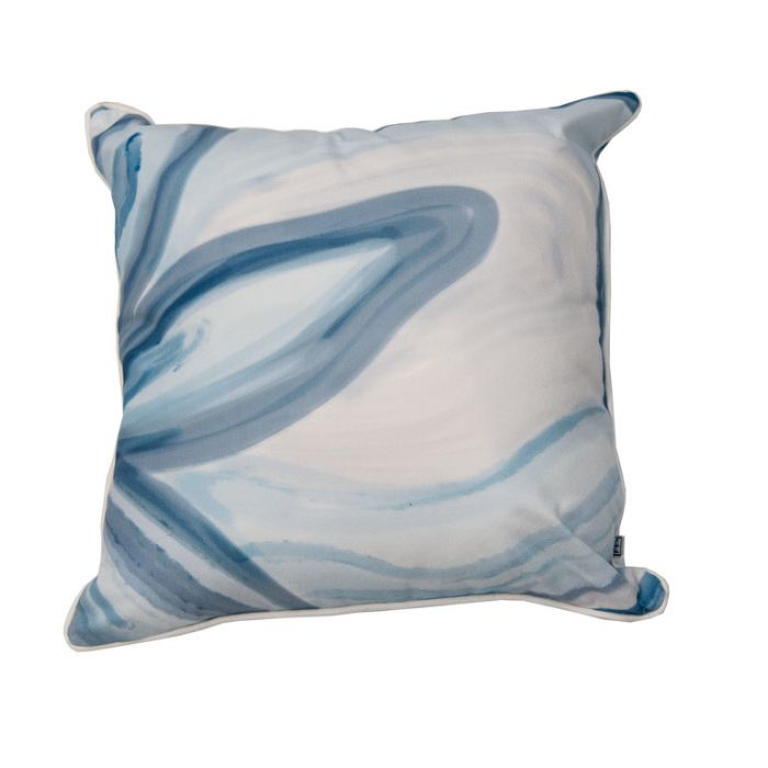 FP Collection Outdoor Cushion Bonita Blue  ] 186291 - Flower Power