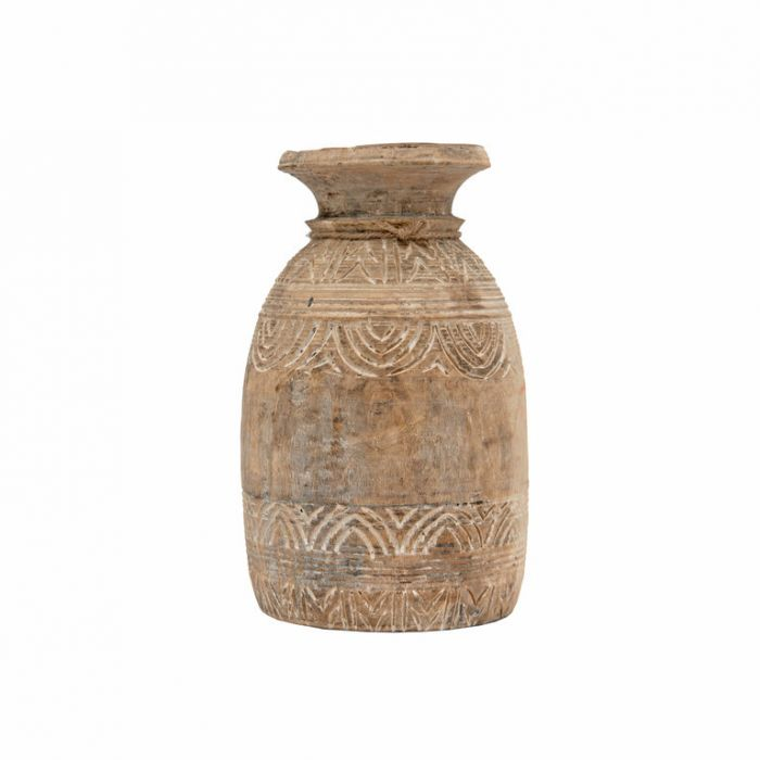 FP Collection Nalini Timber Vase Assorted  ] 186451 - Flower Power
