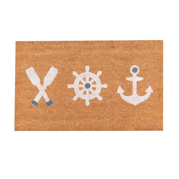 FP Collection Door Mat Nautical  ] 187246 - Flower Power