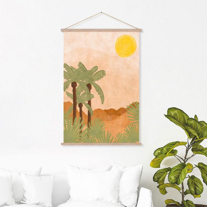 FP Collection Hanging Art Maui  ] 187538P - Flower Power