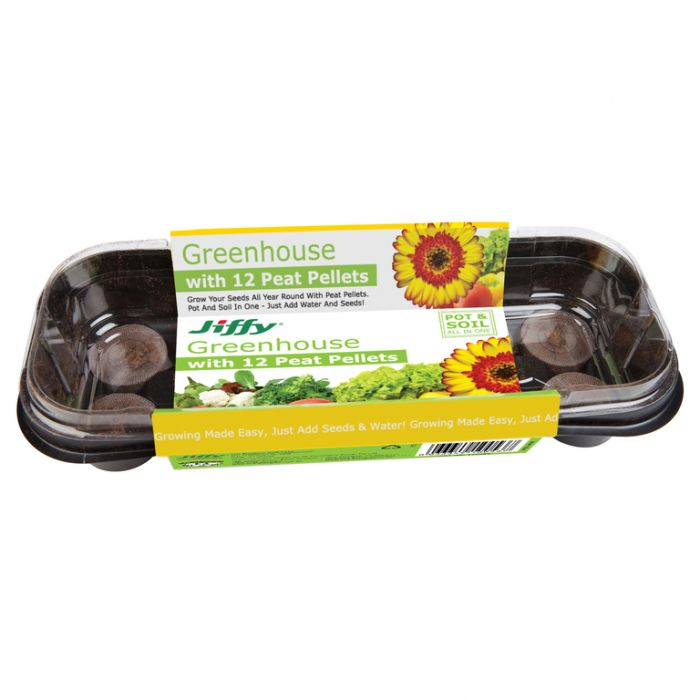 Jiffy - Windowsill kit - 12 x 36mm pellets  ] 33349100537 - Flower Power
