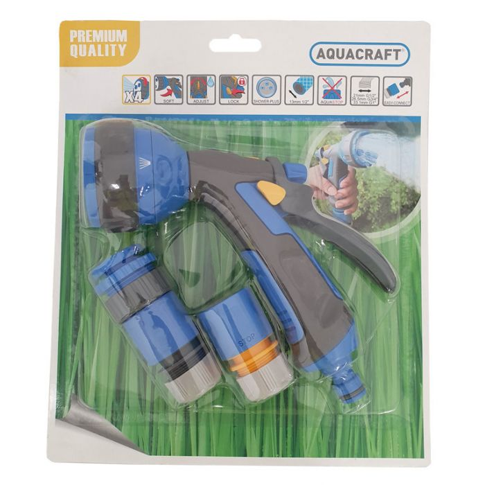 Aquacraft Multi-Jet Spray Nozzle 4pc Set  ] 4713273501933 - Flower Power