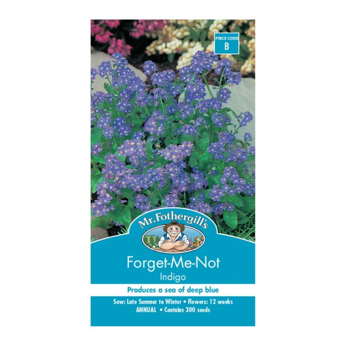Mr Fothergill's Forget-Me-Not Indigo  ] 5011775000220 - Flower Power