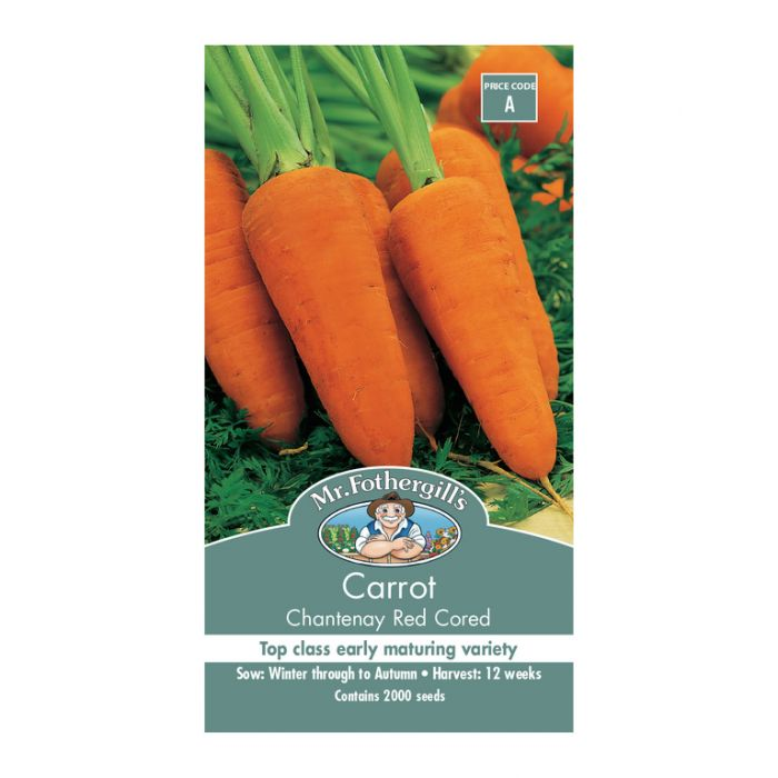 Mr Fothergill's Carrot Chantenay Red Cored  ] 5011775002163 - Flower Power
