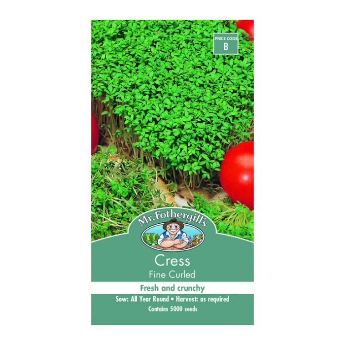 Mr Fothergill's Cress Fine Curled  ] 5011775002279 - Flower Power