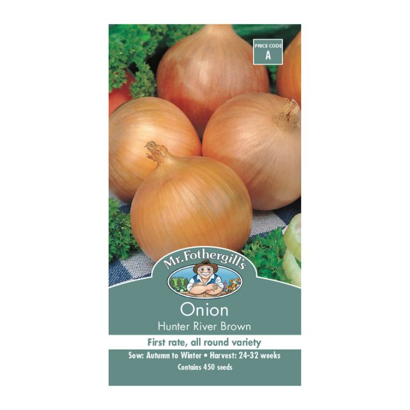 Mr Fothergill's Onion Hunter River Brown  ] 5011775002422 - Flower Power