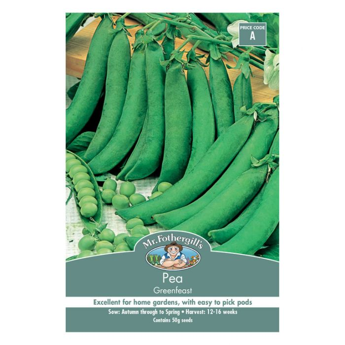 Mr Fothergill's Pea Greenfeast  ] 5011775003016 - Flower Power