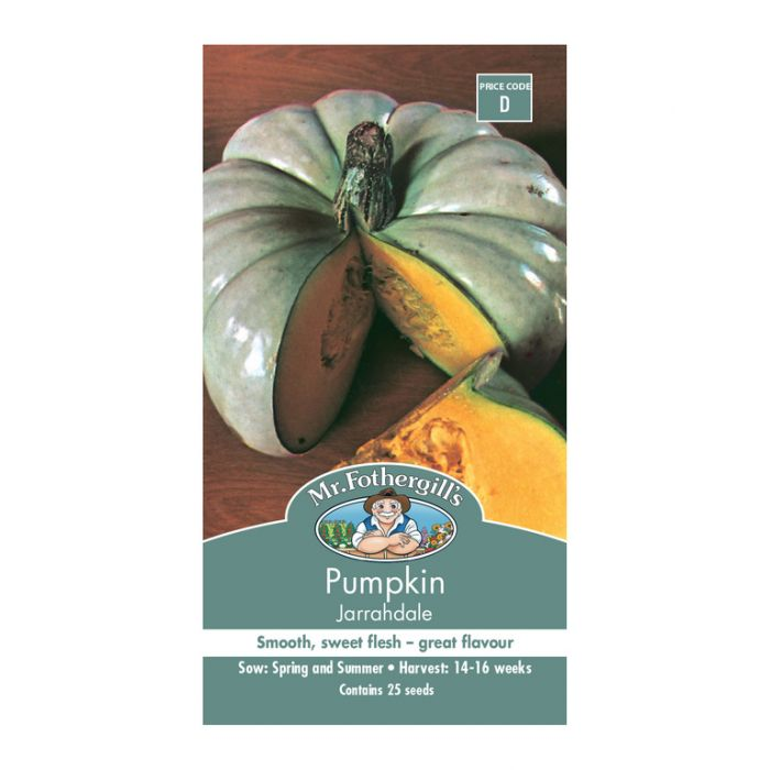 Mr Fothergill's Pumpkin Jarrahdale  ] 5011775003801 - Flower Power