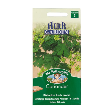 Mr Fothergill's Coriander  ] 5011775004075 - Flower Power