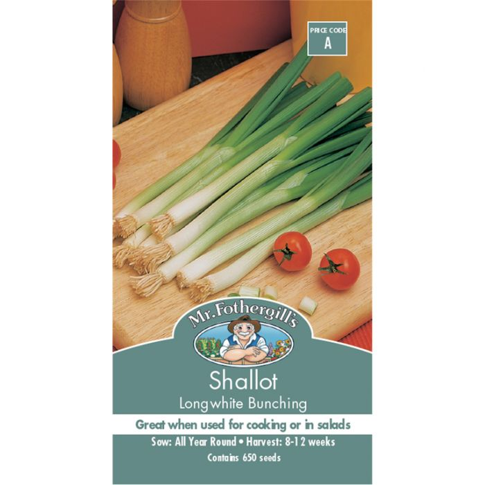 Mr Fothergill's Shallot Longwhite  ] 5011775006833 - Flower Power