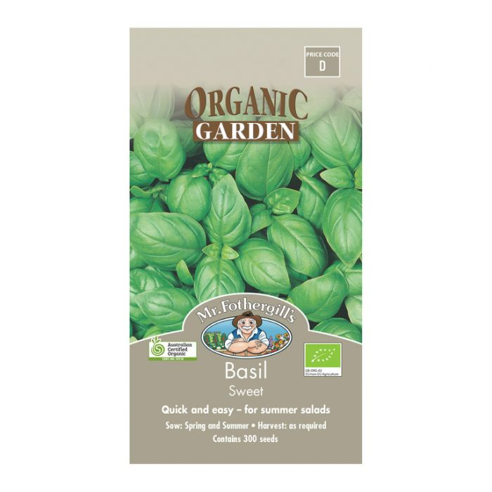 Mr Fothergill's Basil Sweet Genovese  ] 5011775006963 - Flower Power