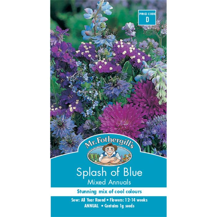 Mr Fothergill's Splash of Blue  ] 5011775012902 - Flower Power