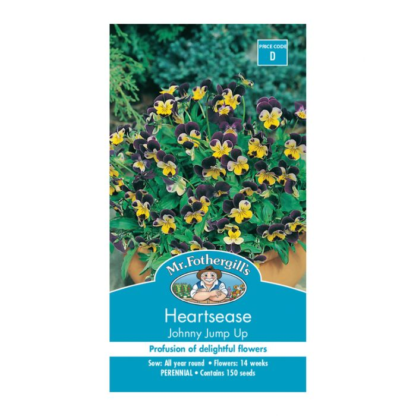 Mr Fothergill's Heartsease Johnny Jump Up  ] 5011775014579 - Flower Power