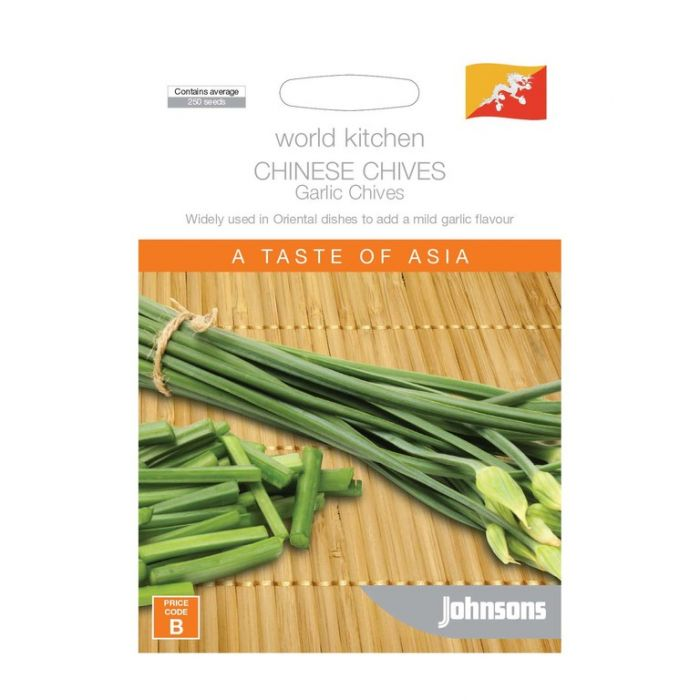 World Kitchen - Asia - Chinese Chives Garlic Chives  ] 5011775048581 - Flower Power