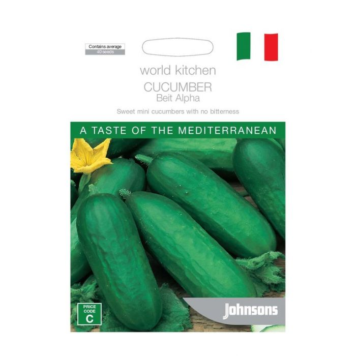 World Kitchen - Mediterranean - Cucumber Beit Alpha  ] 5011775049465 - Flower Power