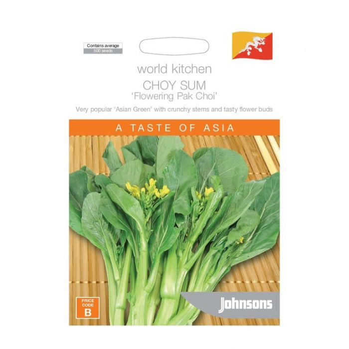 World Kitchen - Asia - Choy Sum 'Flowering Pak Choi'  ] 5011775049496 - Flower Power