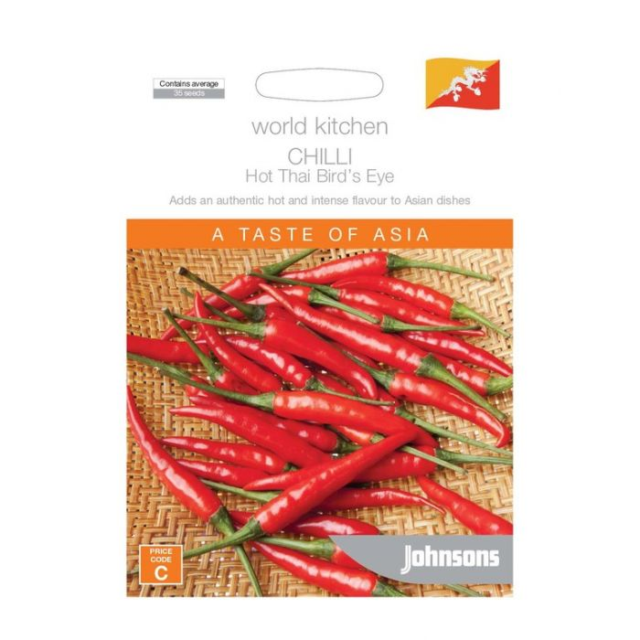World Kitchen - Asia - Chilli Hot Thai Bird's Eye  ] 5011775049571 - Flower Power