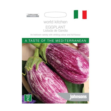 World Kitchen - Mediterranean - Eggplant Listada de Gandia  ] 5011775049694 - Flower Power