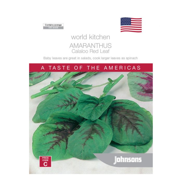 World Kitchen - The Americas - Amaranthus Callaloo Red Leaf  ] 5011775049793 - Flower Power