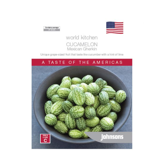 World Kitchen - The Americas - Cucamelon Mexican Gerkhin  ] 5011775049946 - Flower Power