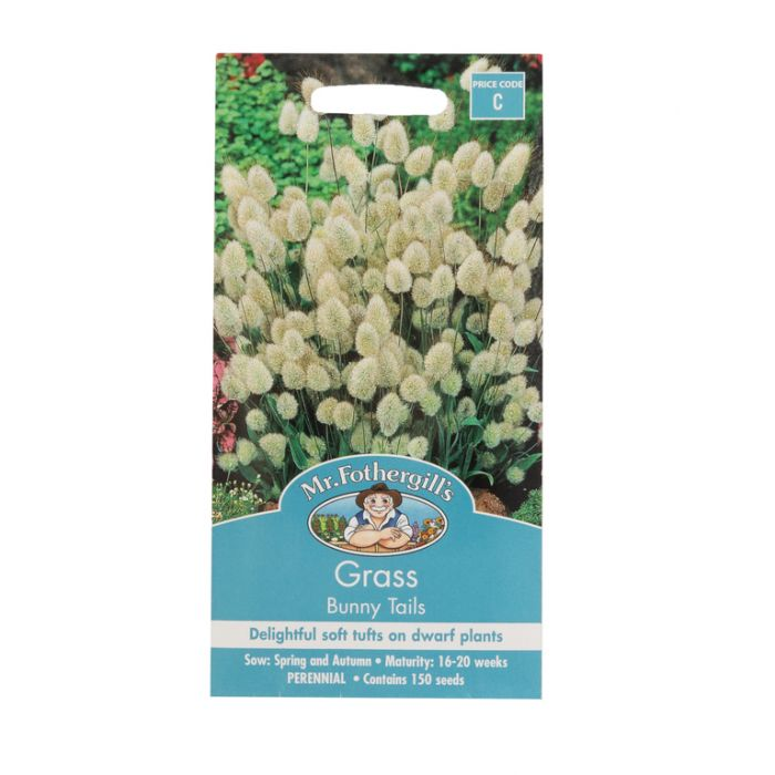 Mr Fothergill's Grass Bunny Tails  ] 5011775053721 - Flower Power