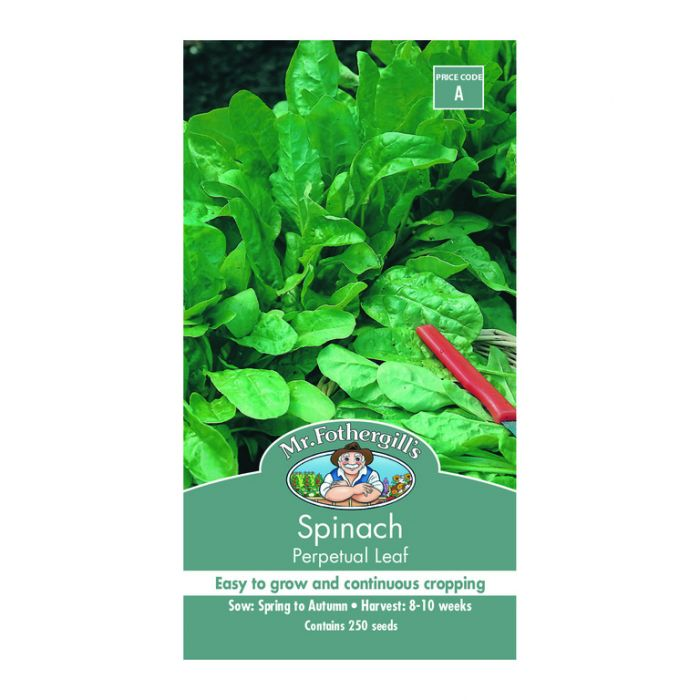 Mr Fothergill's Spinach Perpetual Leaf  ] 5011775054148 - Flower Power