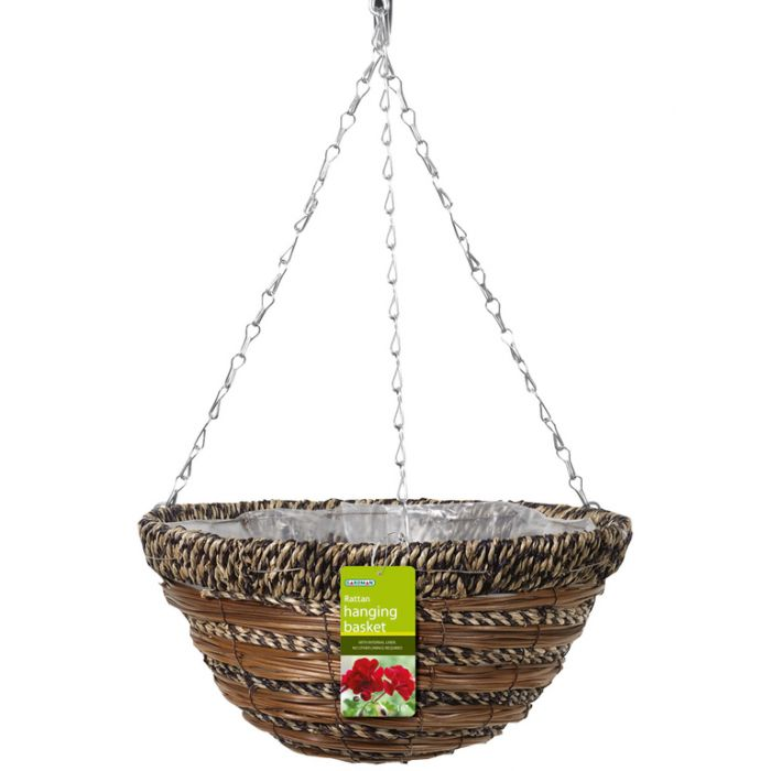 Gardman Sisal & Fern Basket  ] 5024160027719 - Flower Power