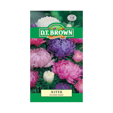 D.T. Brown Aster Duchess Mixed  ] 5030075000402 - Flower Power