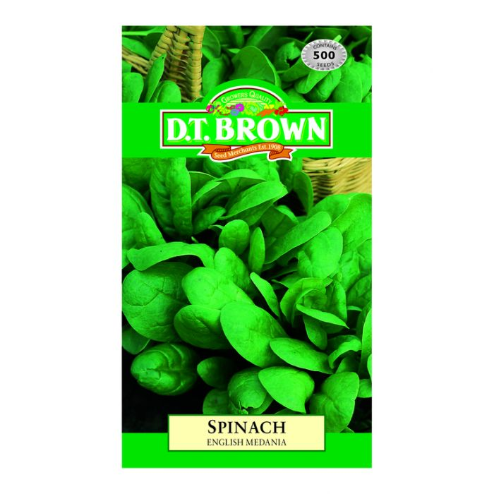 D.T. Brown Spinach English Medania  ] 5030075021667 - Flower Power
