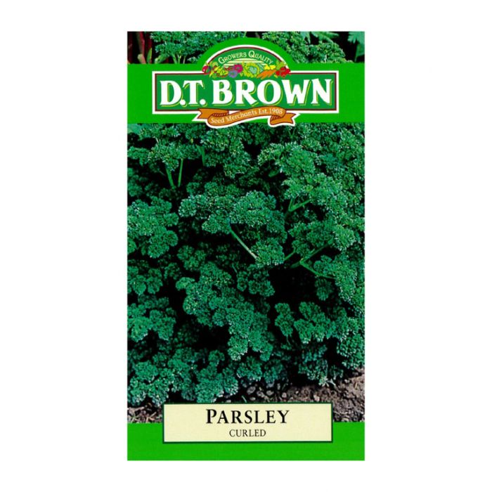 D.T. Brown Parsley Curled  ] 5030075022312 - Flower Power
