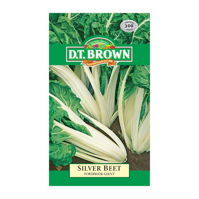 D.T. Brown Silver Beet Fordhook Giant  ] 5030075022398 - Flower Power