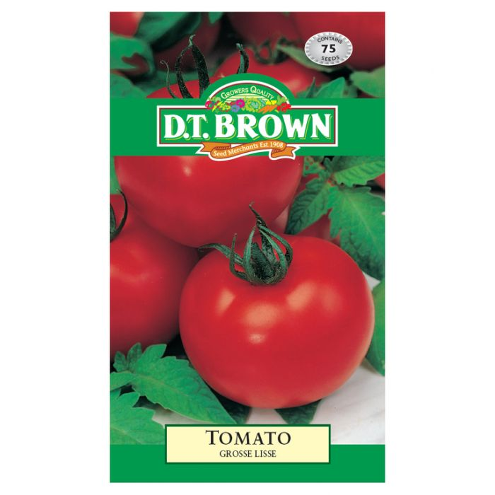 D.T. Brown Tomato Grosse Lise  ] 5030075022442 - Flower Power