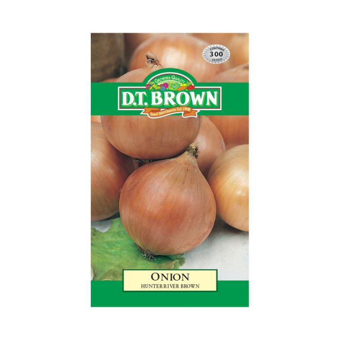 D.T. Brown Onion Hunter River Brown  ] 5030075022558 - Flower Power