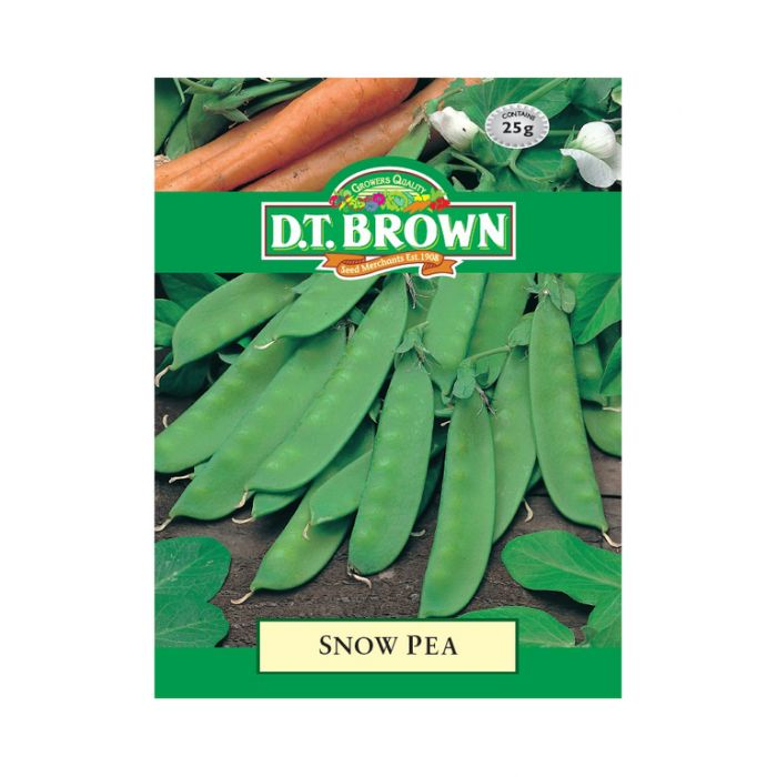 D.T. Brown Snow Pea  ] 5030075022602 - Flower Power
